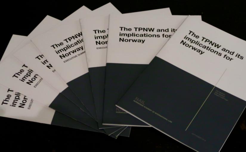 Ny rapport om Norge og atomvåpenforbudet